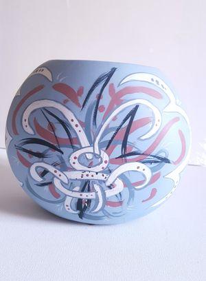 Pretty Hand Painted Vase for Sale in West Jordan, UT