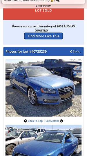 Audi A5 PART OUT! for Sale in Sacramento, CA