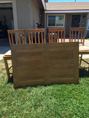 4 chair bar stool high dinning room table for Sale in Menifee, CA