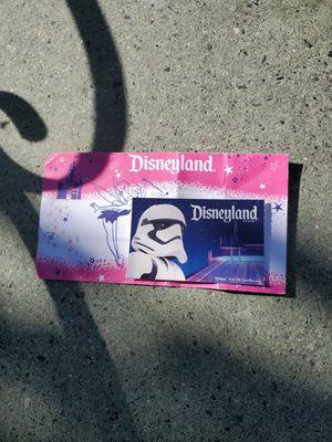 Disneyland Ticket for Sale in Bell Gardens, CA