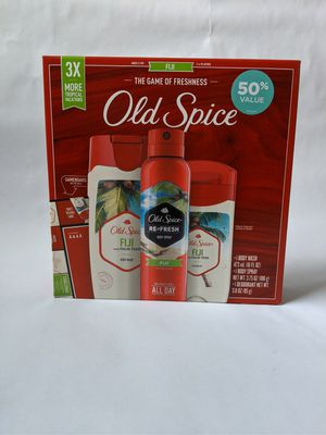 Old Spice men's gift set FIJI for Sale in Lebanon, PA