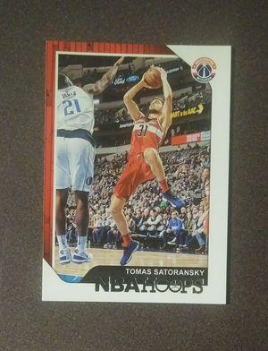 2018-19 Panini Tomas Satoransky Washington Wizards #69 Rookie Basketball Card Collectible Sports for Sale in Salem, OH