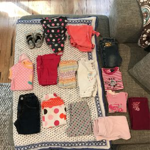 18 to 24 Month Old Girl Clothes And Shoes And Toys for Sale in Cupertino, CA