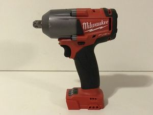 MILWAUKEE M18 FUEL CORDLESS 1/2in IMPACT WRENCH MID TORQUE NO BATTERY OR CHARGER INCLUDED TOOL ONLY SOLO LA HERRAMIENTA for Sale in San Bernardino, CA