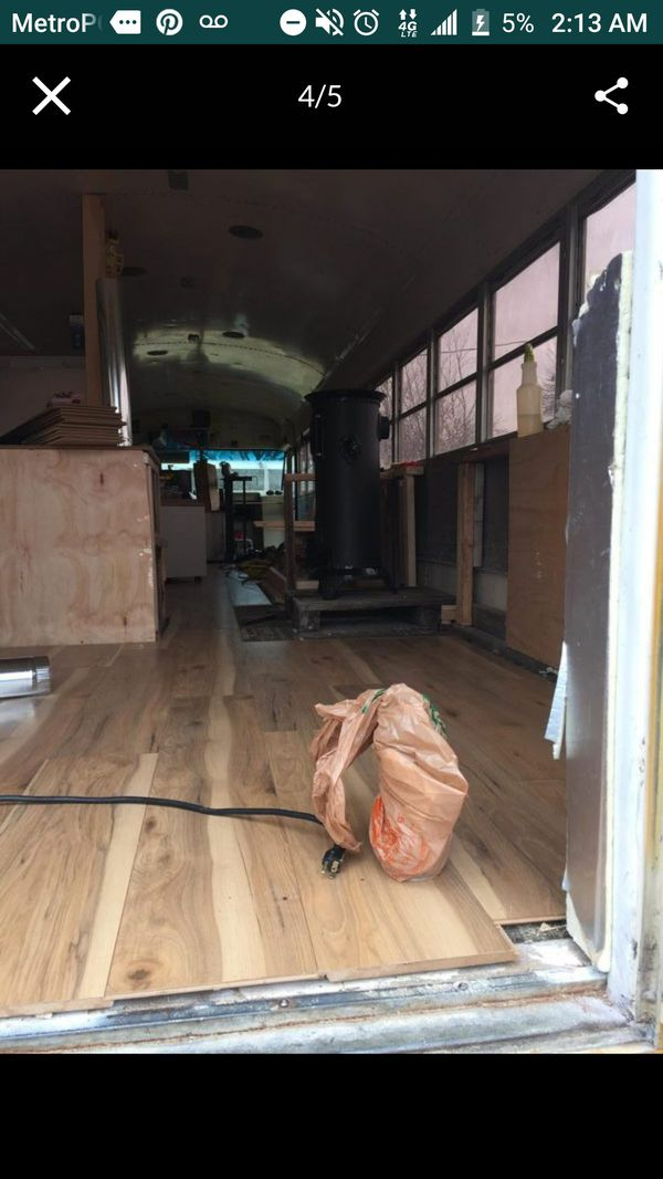 School bus conversion RV title runs drives great low milage