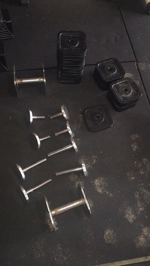 Ironmaster 5-120 adjustable dumbbell set for Sale in Durham, NC
