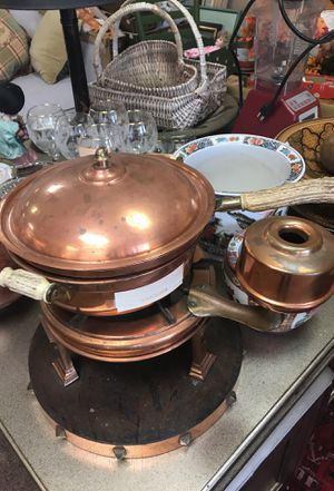 Chafing Dish with Stag Horn for Sale in Orlando, FL