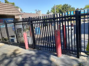 Iron sliding gates with fencing for Sale in Westchester, IL