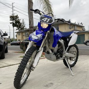 2011 YAMAHA WR450 ELECTRIC START, FAST, & GREEN STICKER. LIKE NEW!!! MUST SEE. FIRM for Sale in Los Angeles, CA
