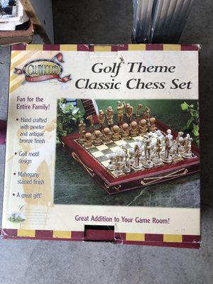 Golf Theme Chess Set for Sale in Colonial Heights, VA