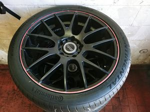 "Bremmer Kraft Black 20"" inches Wheels & Tires Set for Sale in Shrewsbury, MA"