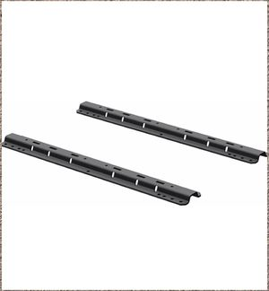 New CURT 16204 Industry-Standard 5th Wheel Hitch Rails, Carbide Black for Sale in Irving, TX