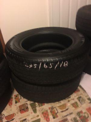 235/65/18 mechelin tires for Sale in Manassas, VA