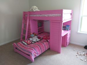 Wooden Twin Size Bunk Beds for Sale in Huntersville, NC