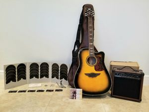 Keith Urban Acoustic Electric Guitar package ❤🎶🎸 for Sale in Miami, FL