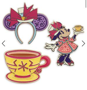 Disney Minnie Mouse: The Main Attraction Mad Tea Party Pin Set for Sale in Fullerton, CA