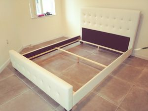 $275 Queen bed frame brand new free delivery same day for Sale in West Park, FL
