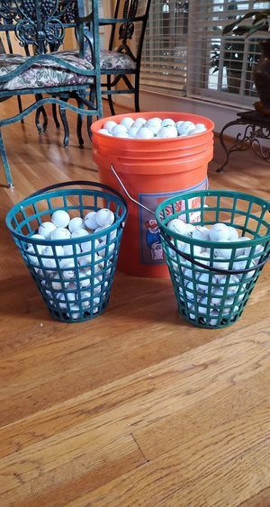 Used shaggy golf balls for Sale in Stone Mountain, GA