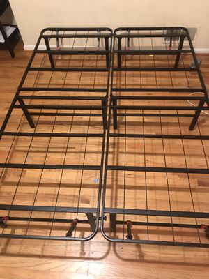 Foldable - FULL Size Metal Bed Frame for Sale in Washington, DC