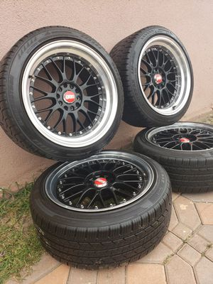 rims 18x8,5. 18x10 5 lugs universal for Sale in Arcadia, CA