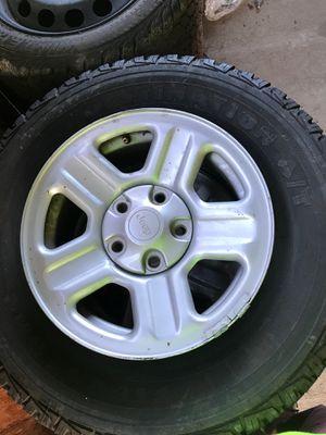 2012 Jeep ranger wheels 95% tread life for Sale in Ruston, WA