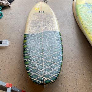 """5' 8"""" Surfboard - Needs Some Work for Sale in San Diego, CA"""