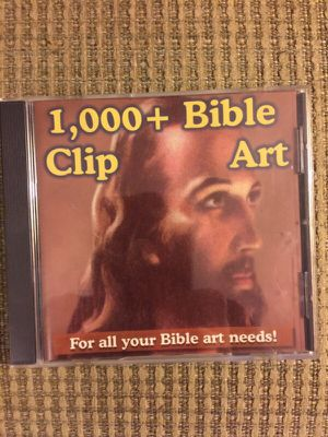 Bible Clip Art CD for Sale in Apex, NC
