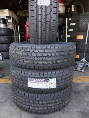 BRAND NEW SET OF TIRES 235/65r17 235/65/17 for Sale in Rialto, CA