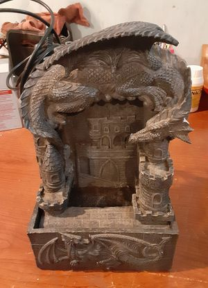 Dragon Light Up fountain $25 for Sale in Ontario, CA