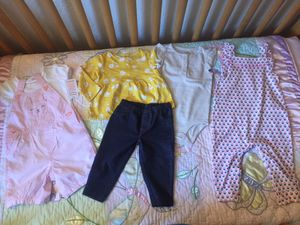 Babygirl 9 months carters new..$6ea outfit for Sale in Santee, CA