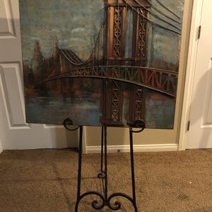 Metal Photo With Stand for Sale in Henderson, NV
