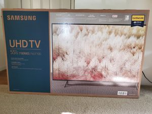 Samsung 55inch tv 7 series with tv stand for Sale in Manchester, CT