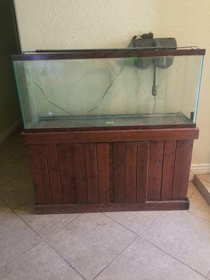 55 gallon aquarium for Sale in Glendale, AZ