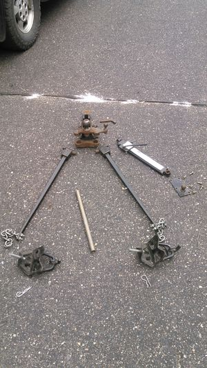 Reese weight distribution hitch complete with sway control for Sale in Lakeville, MN