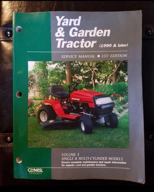 Yard & Garden Tractor Manual Complete for Sale in Farmersville, IL