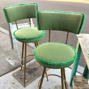 """Pair of mid century modern bar stools 30"""" high to the seat for Sale in San Diego, CA"""