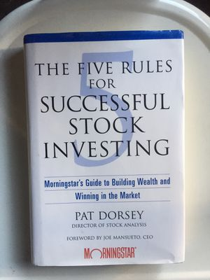 The Five Rules for Successful Stock Investing: Morningstar's Guide to Building Wealth and Winning in the Market for Sale in Claremont, CA