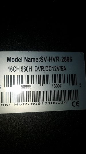 16 ch dvr HD with 4 cameras 2.8 fix lens for Sale in Rialto, CA
