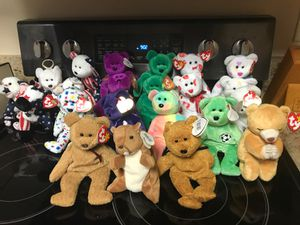 Beanie Baby Bears for Sale in Weaverville, NC