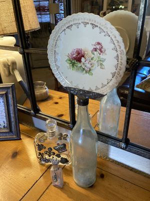 3 shabby chic vintage vanity bottles for Sale in San Diego, CA