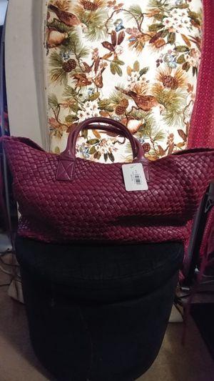 Used nicely. Elegant leather tote bag. for Sale in Reston, VA