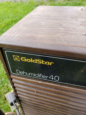 Goldstar Dehumidifier 40 for Sale in North Springfield, VA