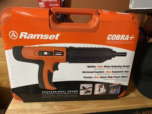 Ramset COBRA Concrete Nail Gun for Sale in Downey, CA