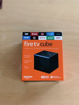 (New) Amazon Fire TV Cube (4K HDR) for Sale in Springfield, VA
