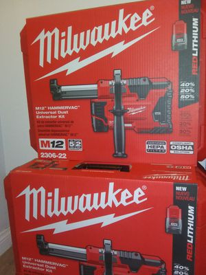 Milwaukee UNIVERSAL DUST EXTRACTOR KIT for Sale in Corona, CA