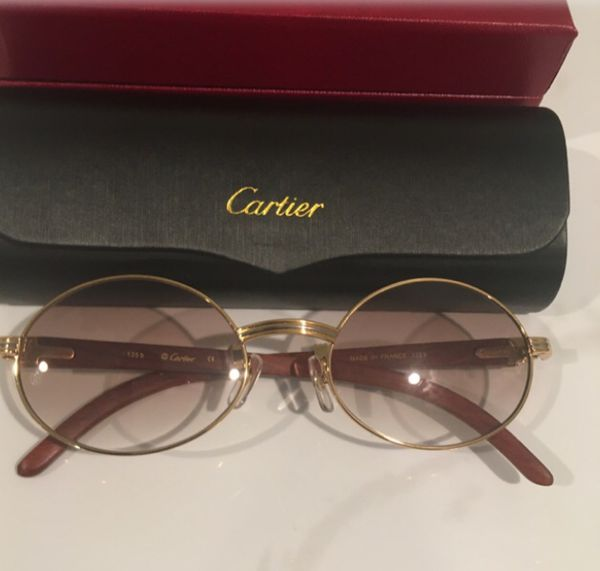 Cartier glasses