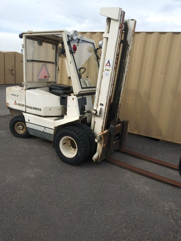 Alice forklift 4000 lb capacity single stage