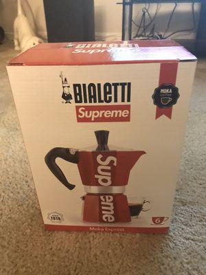 """Supreme Moka Expresso """" Coffee Maker """" Brand New in Box for Sale in Pompano Beach, FL"""