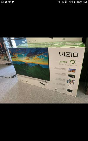 Vizio 70 led smart 4k HDTV like new in box comes with 6 month warranty Ask us about our different $$$$$$$ options for Sale in Phoenix, AZ