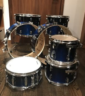 Ludwig Epic 7 piece Shell Pack Drum Set, circa 2009; Blue Fade for Sale in New York, NY